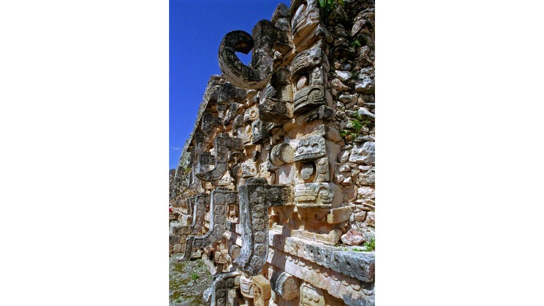 Mexique Kabah Serpents célestes Kukulca