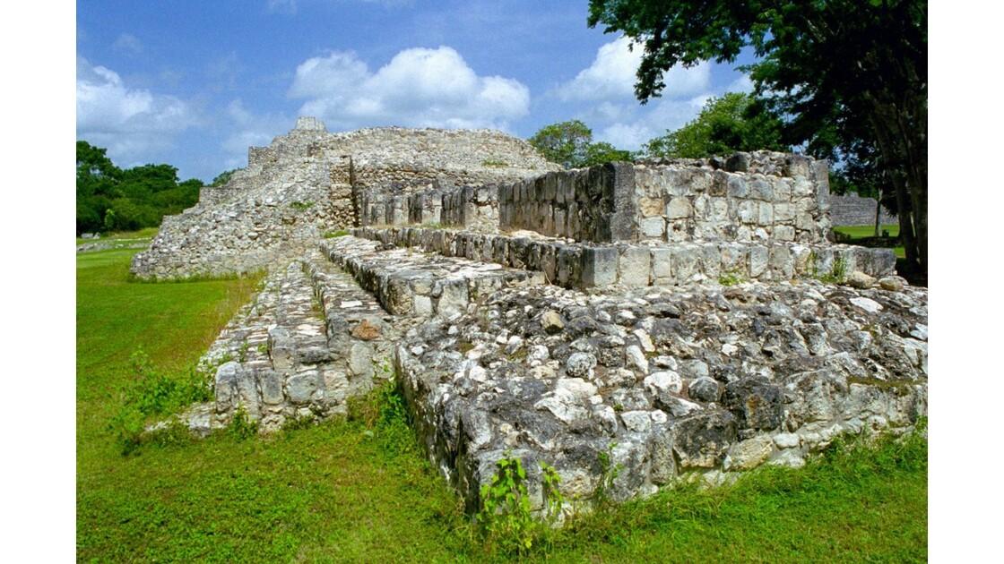 Mexique Ruines d'Edzna