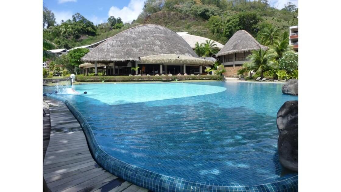 Radisson plaza resort hotel à Tahiti