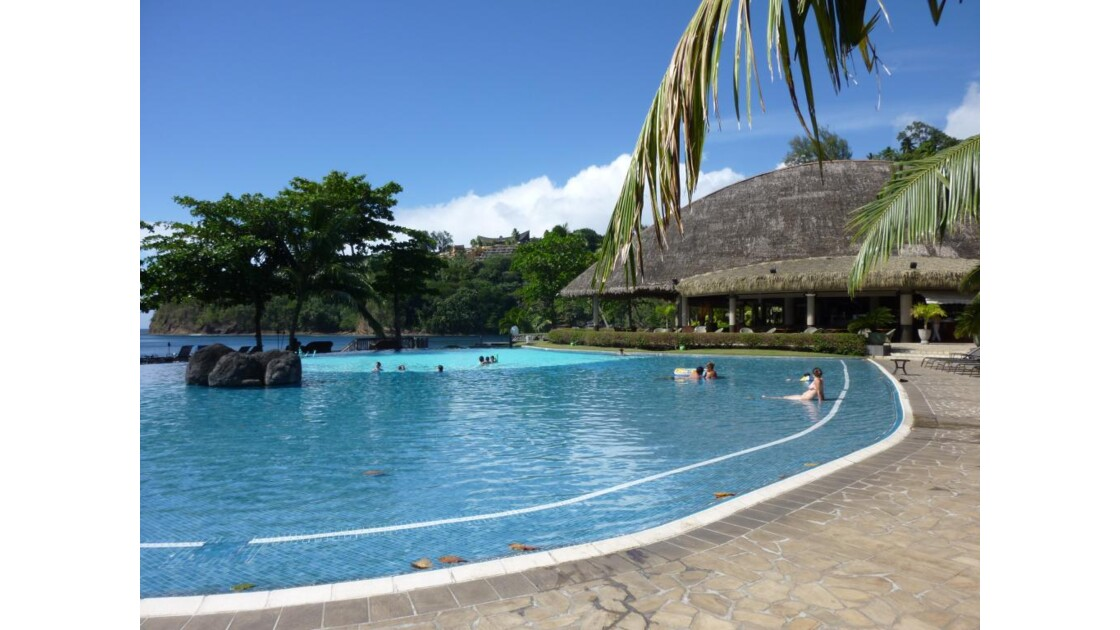 Radisson plaza resort à Tahiti