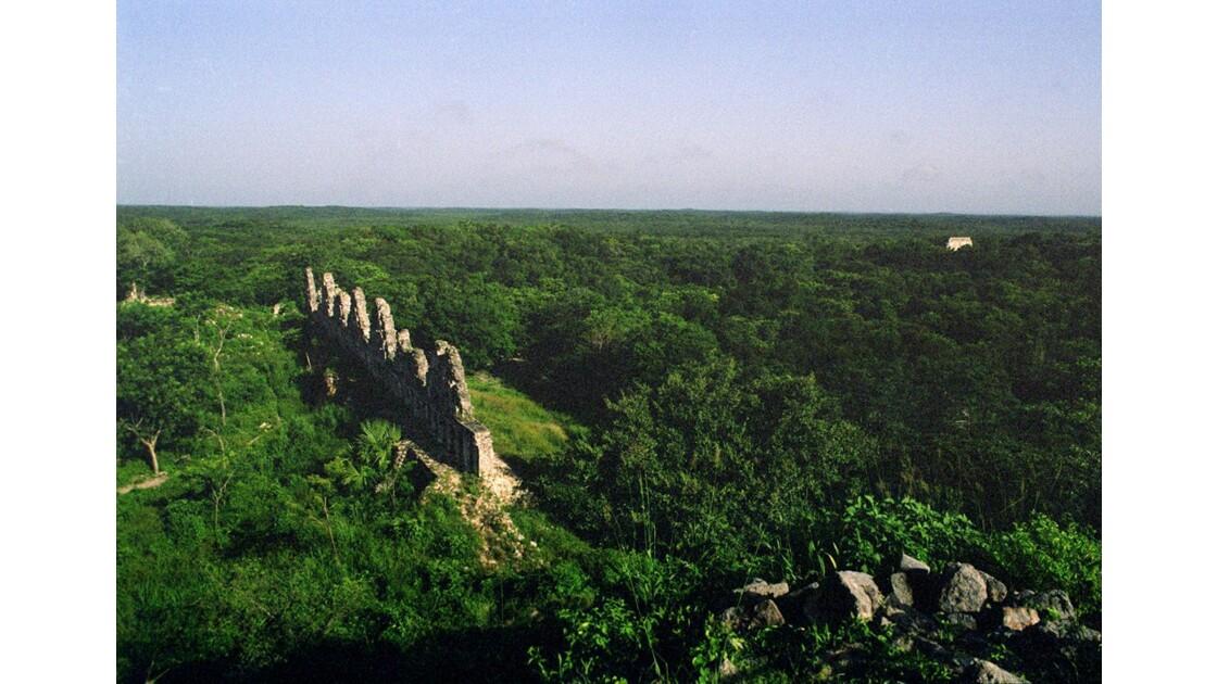 Mexique Uxmal Groupe du pigeonnier