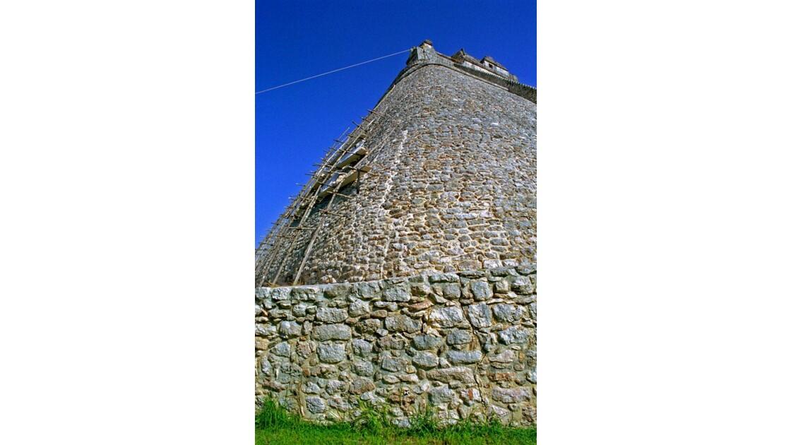 Mexique Uxmal pyramide du Devin 1