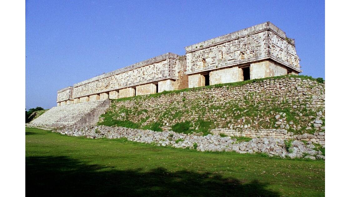 Mexique Uxmal Palais du Gouverneur