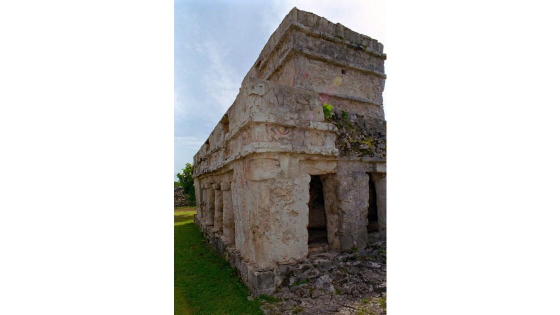 Mexique Tulum Temple des Fresques