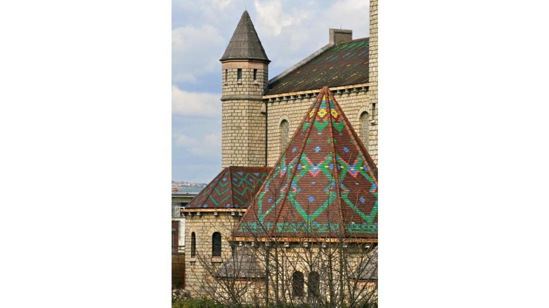 Sacré-Coeur:Baptistère chapelle latérale