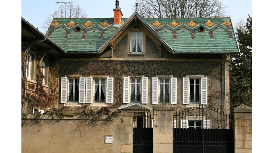 Dijon: Maison rue Charles Dumont