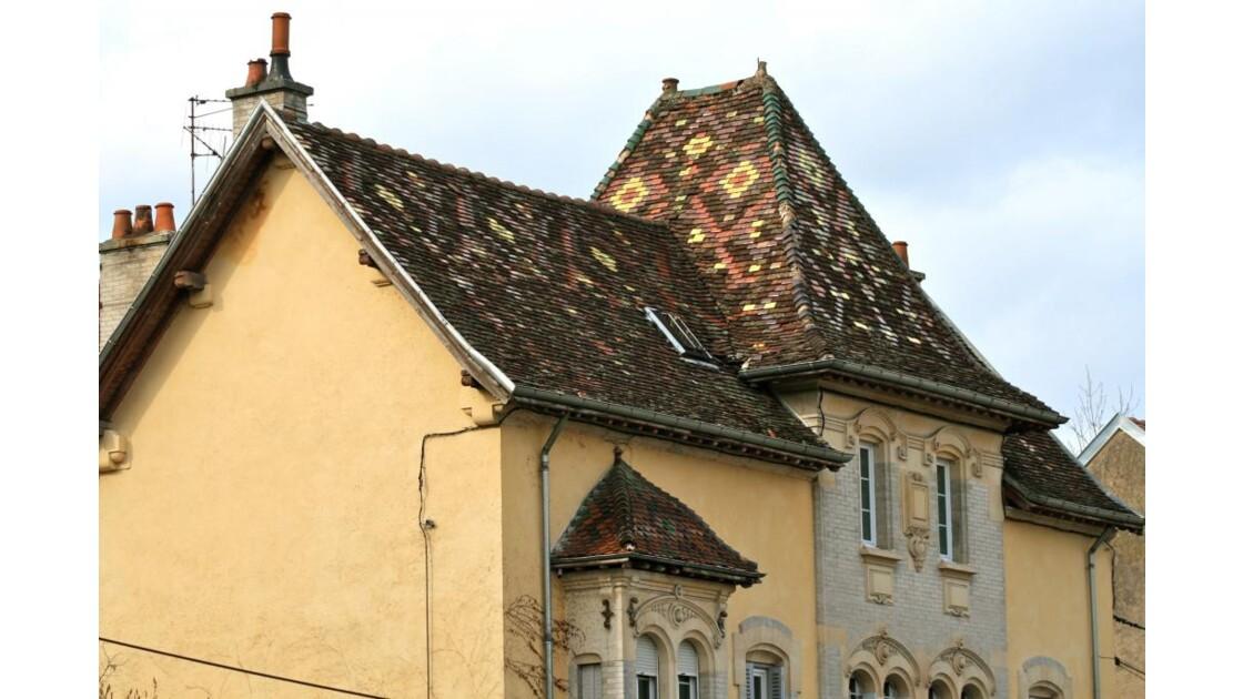 Dijon:Maison rue Charles Dumont