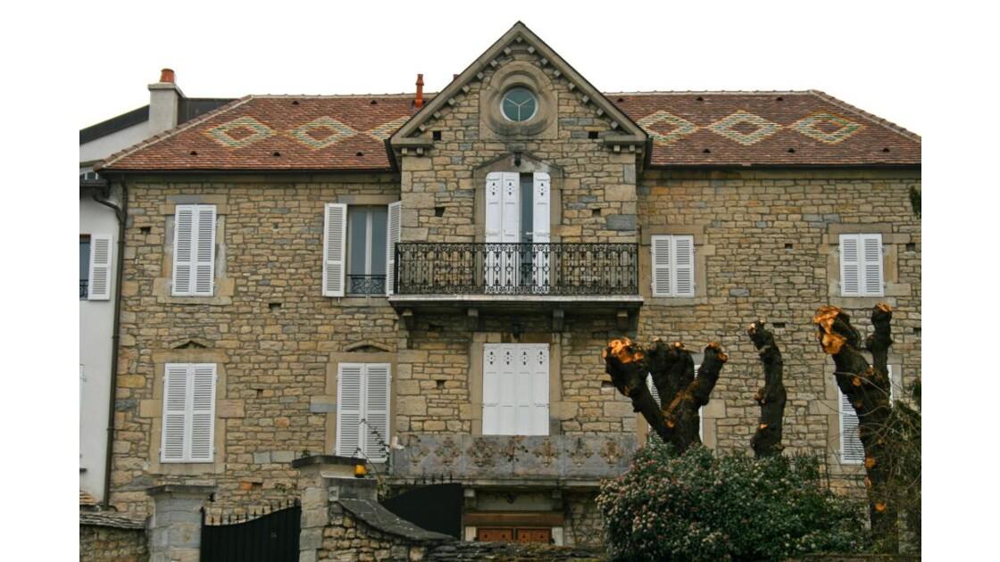 Dijon: Maison rue Sylvain Monget