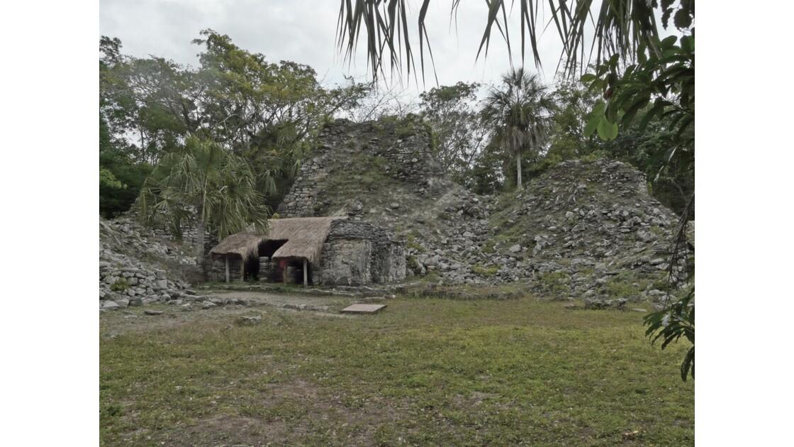 Mexique Muyil Temple double corps 2