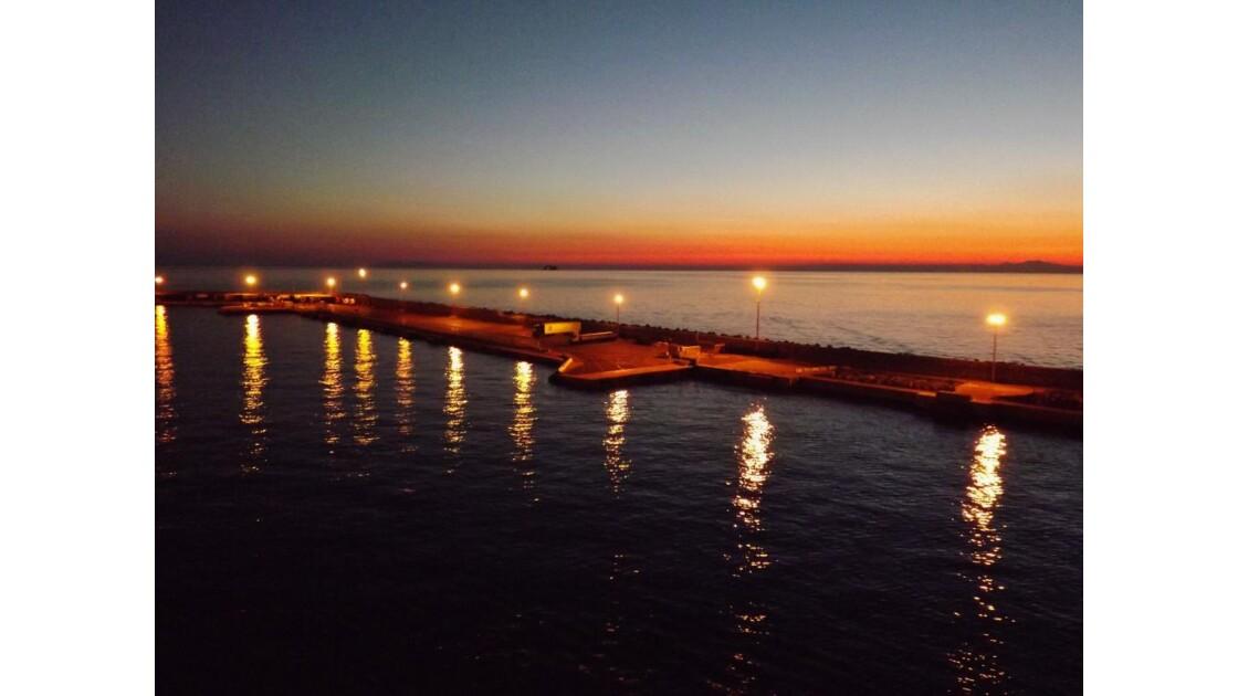 Bastia au petit matin
