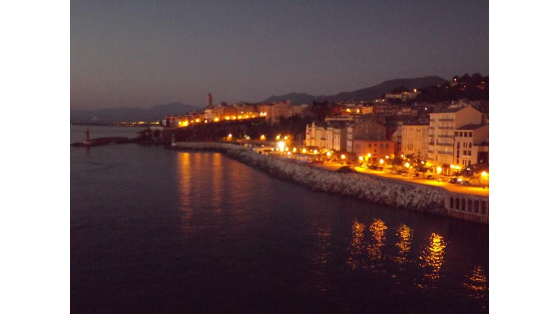 Port de Bastia au matin