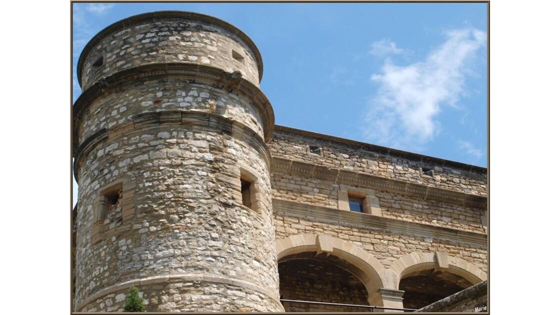 Le château, extérieur et tourelle_P6019