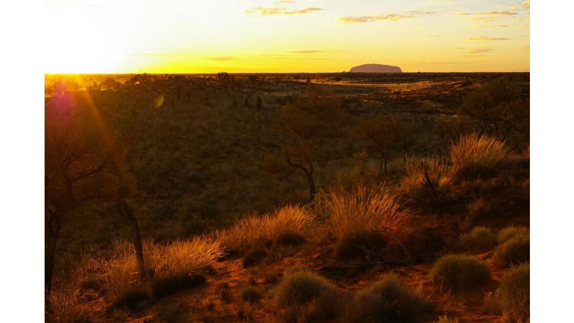 uluru-lever du soleil