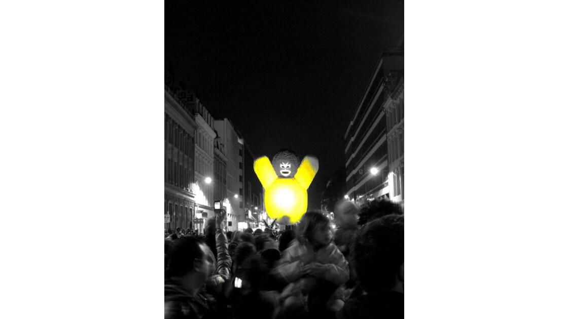 Invasion par la rue Nationale...