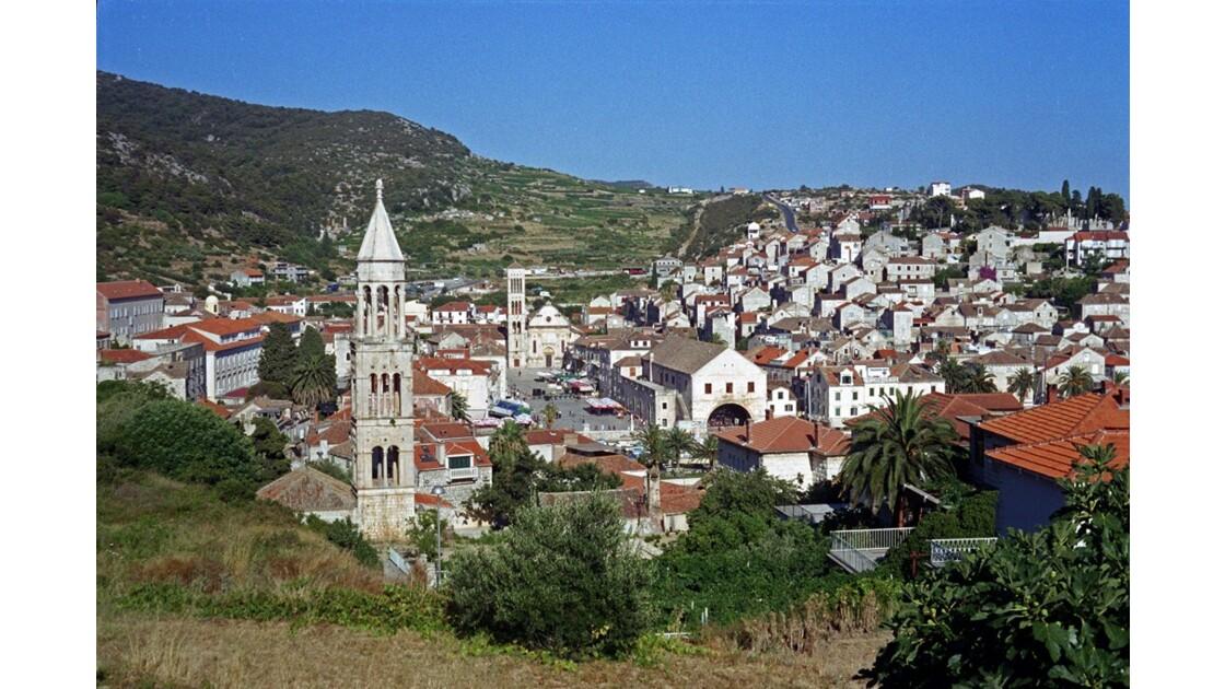 Croatie Hvar capitale l'île