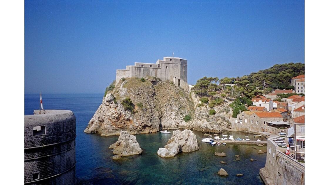 Croatie Dubrovnik Fort Saint-Jean