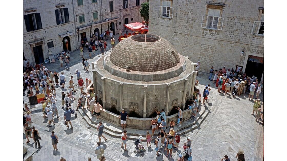 Croatie Dubrovnik Fontaine d'Onofrio 3