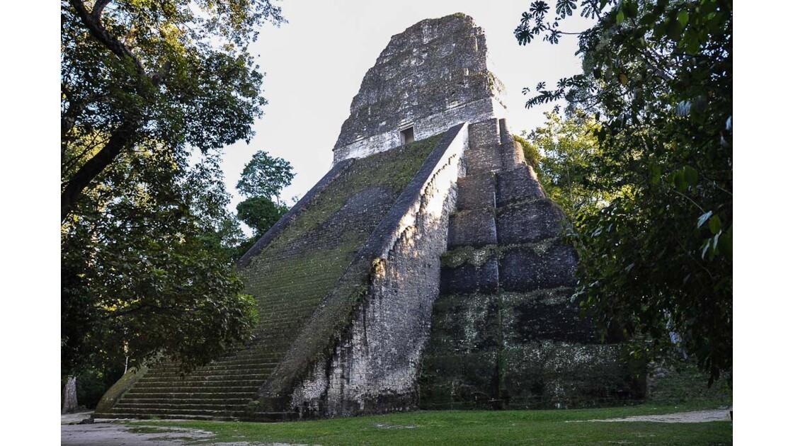 Tikal, pyramide