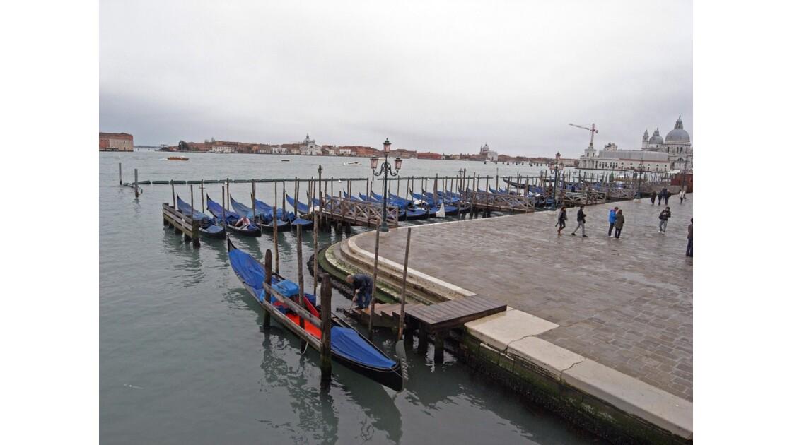 Venise Petit matin pluvieux
