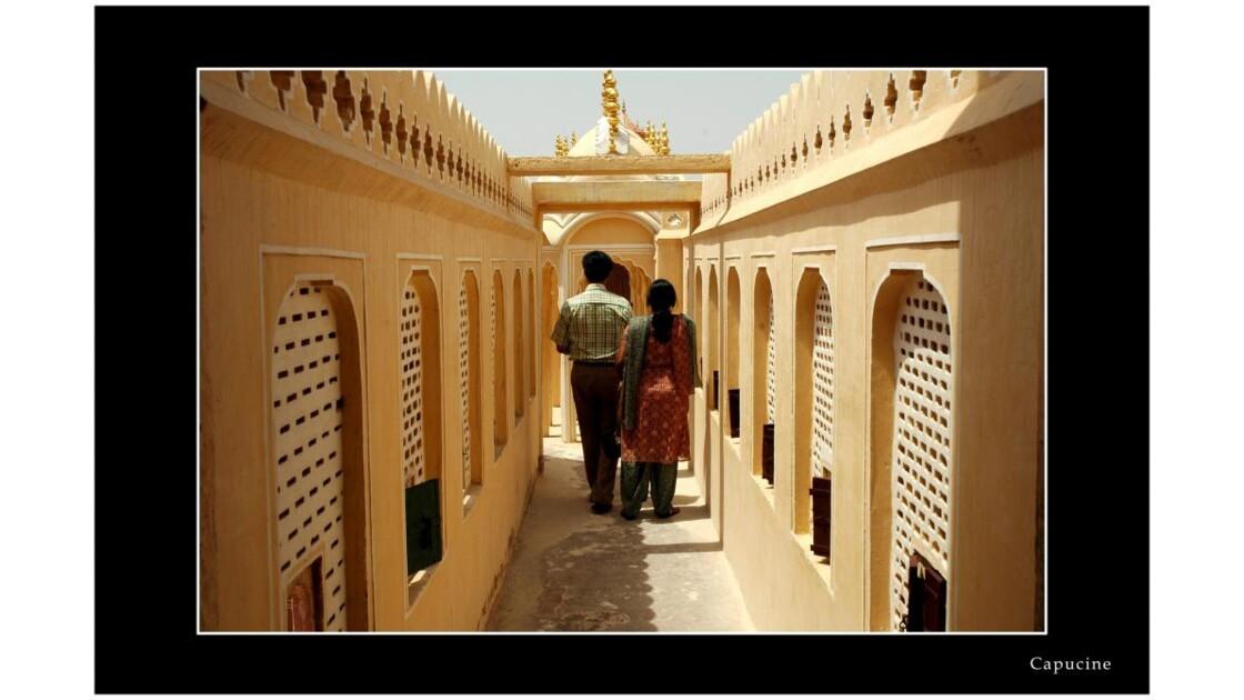 Le palais des vents Hawa Mahal