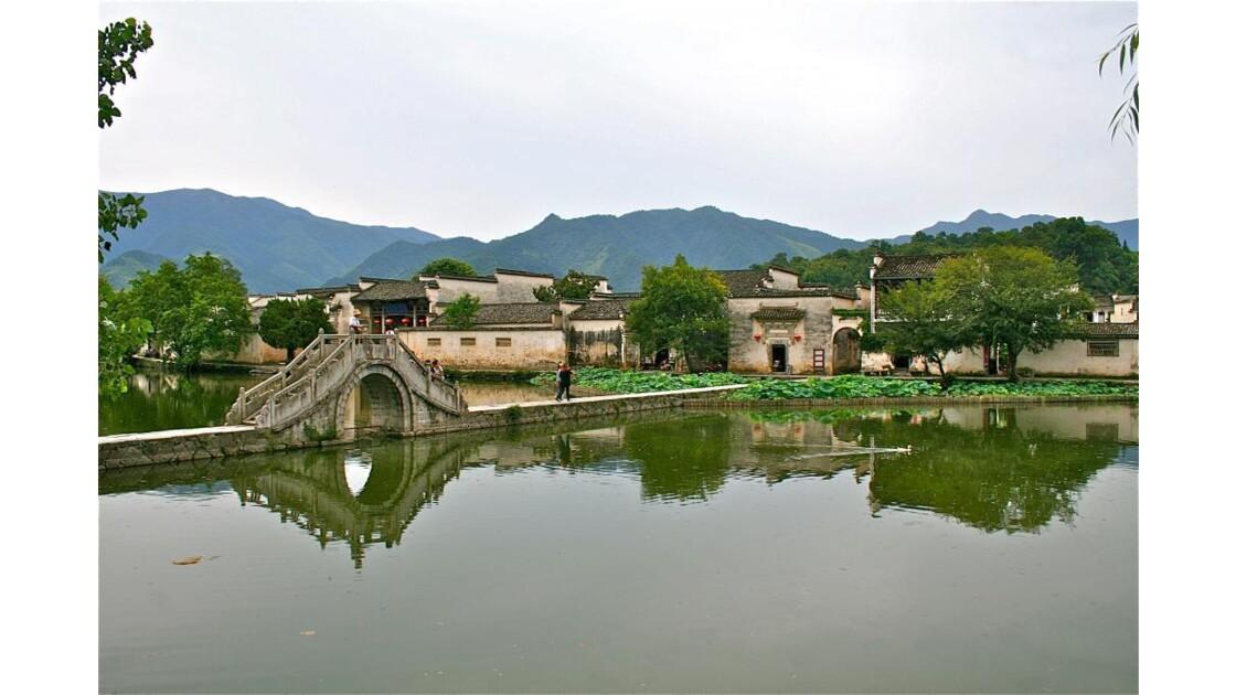 Hungcun: vue d'ensemble du village