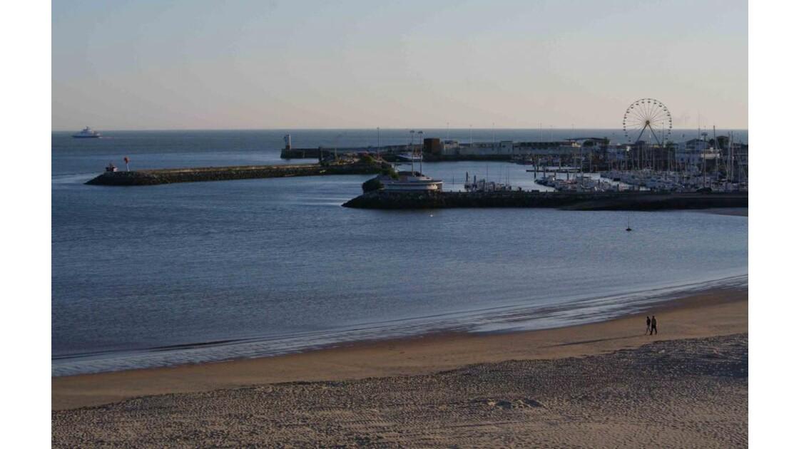 port de Royan un soir de mai.