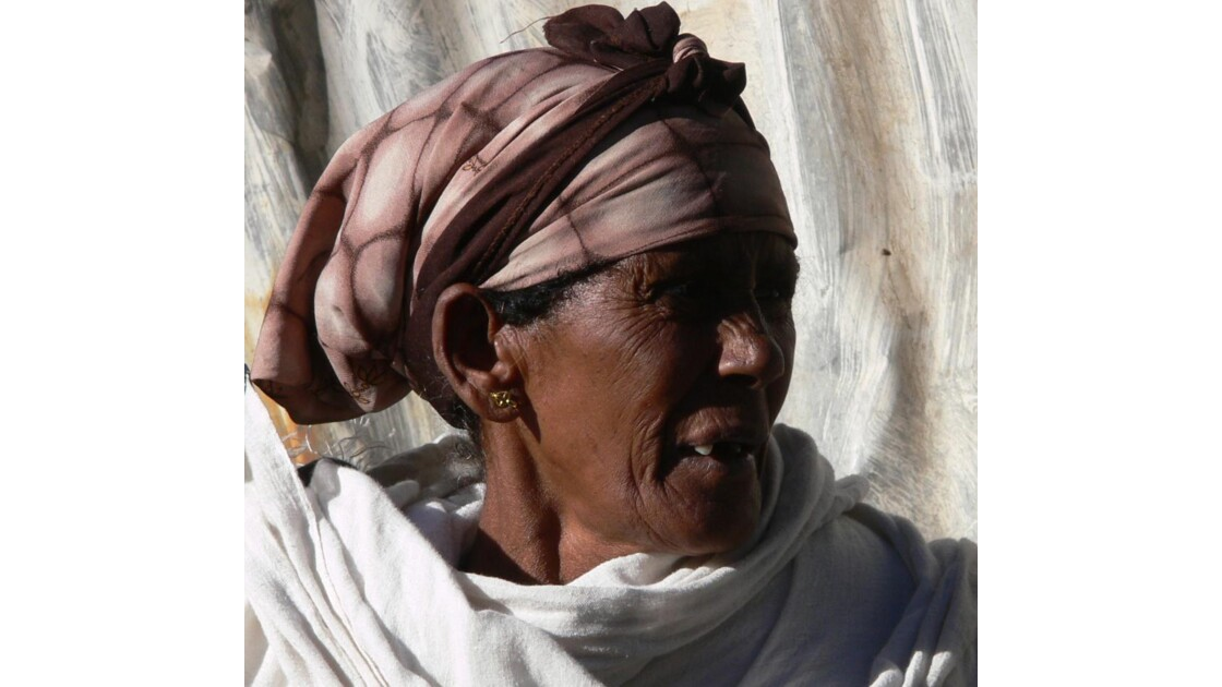 Femme au marché d'Ataya