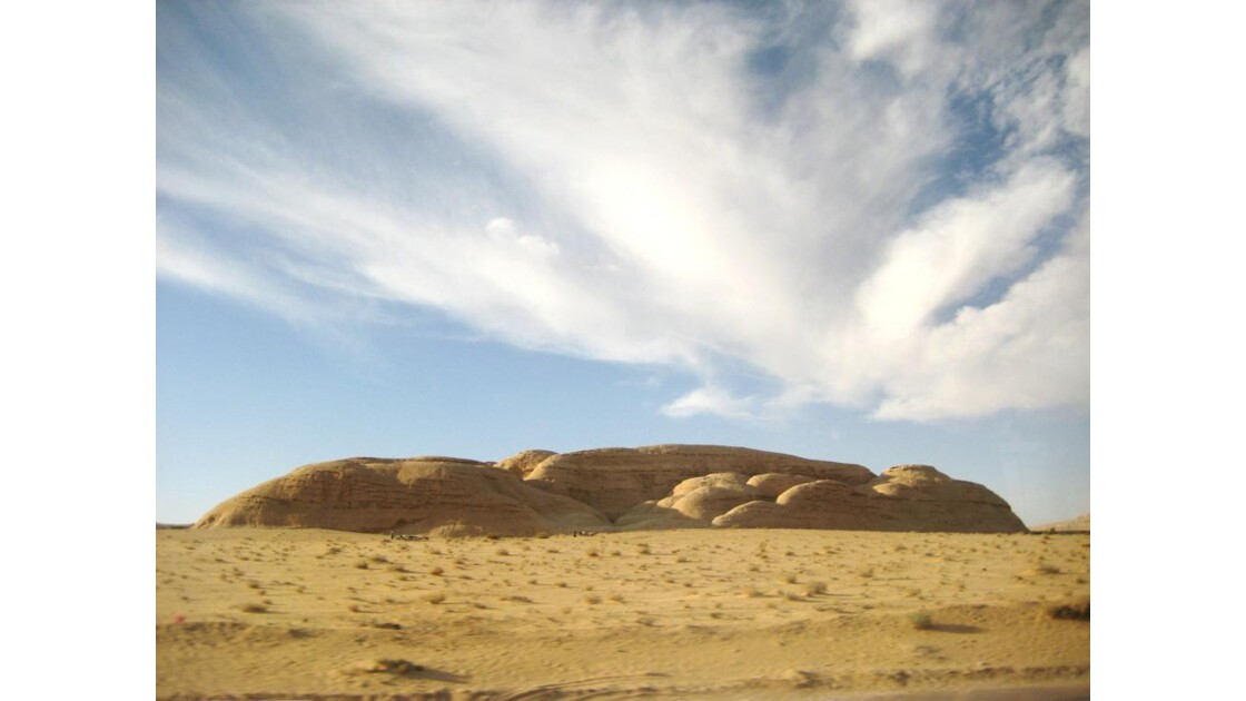 Monolithe - Désert du Wadi Rum