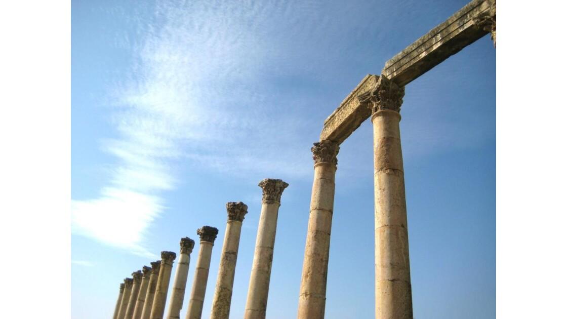 Les colonnes de Jerash