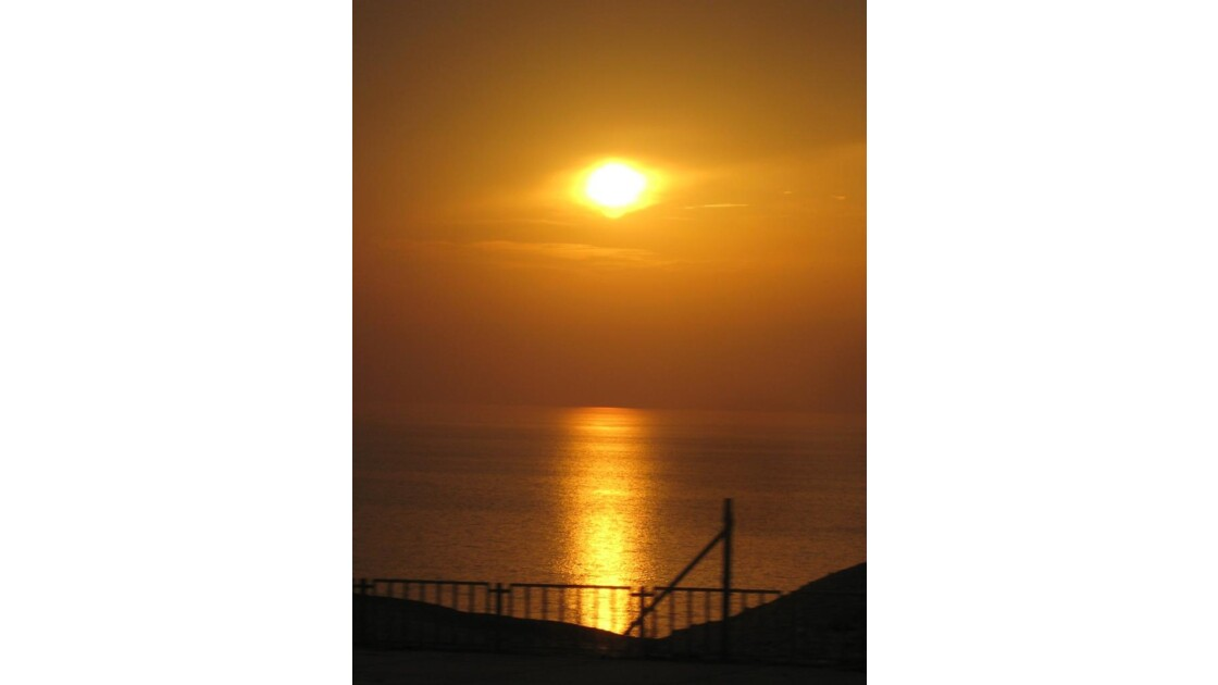 Soleil d'or - Mer Morte
