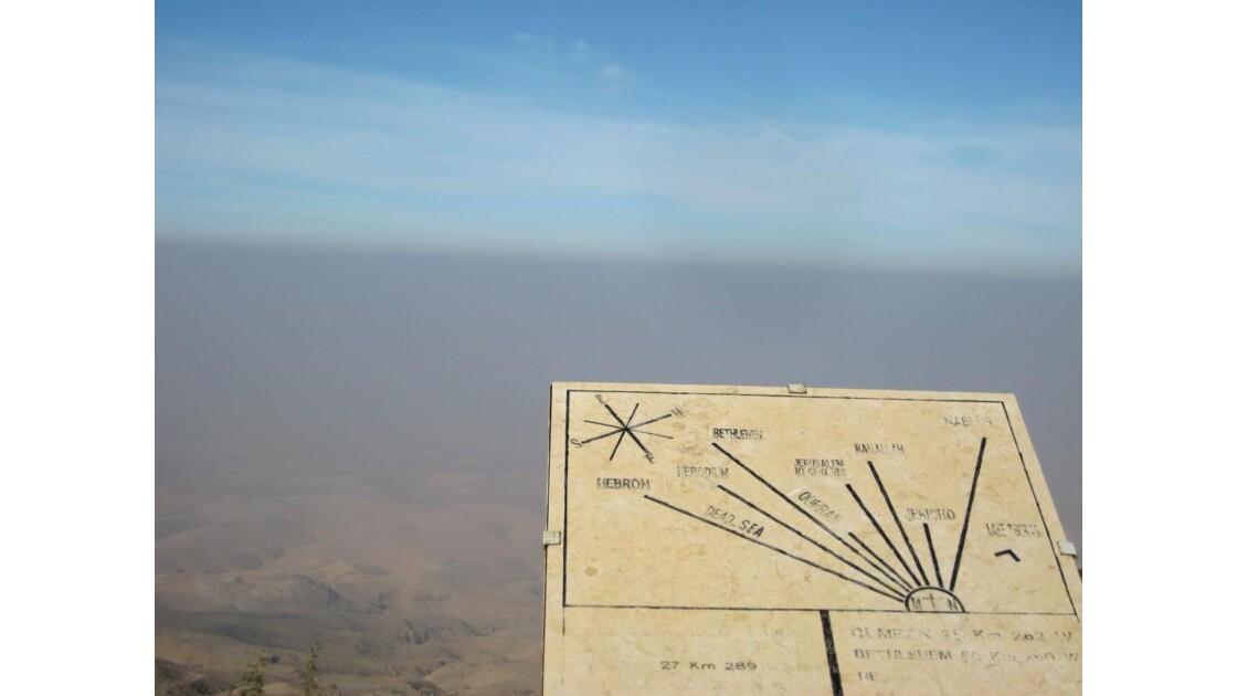 Du haut du Mont Nébo