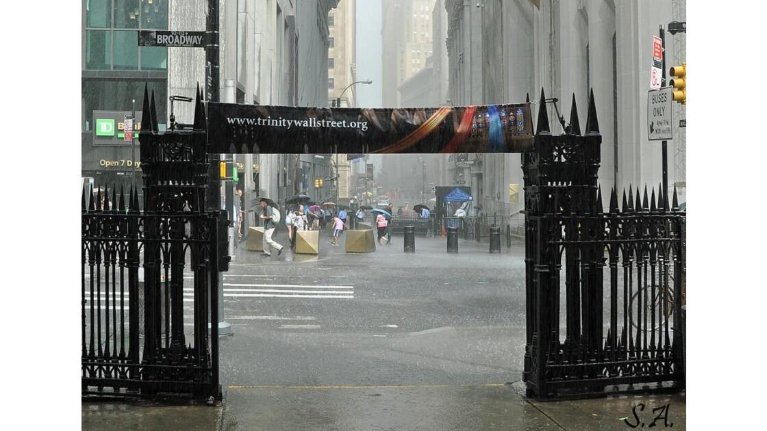 Orage sur Wall Street
