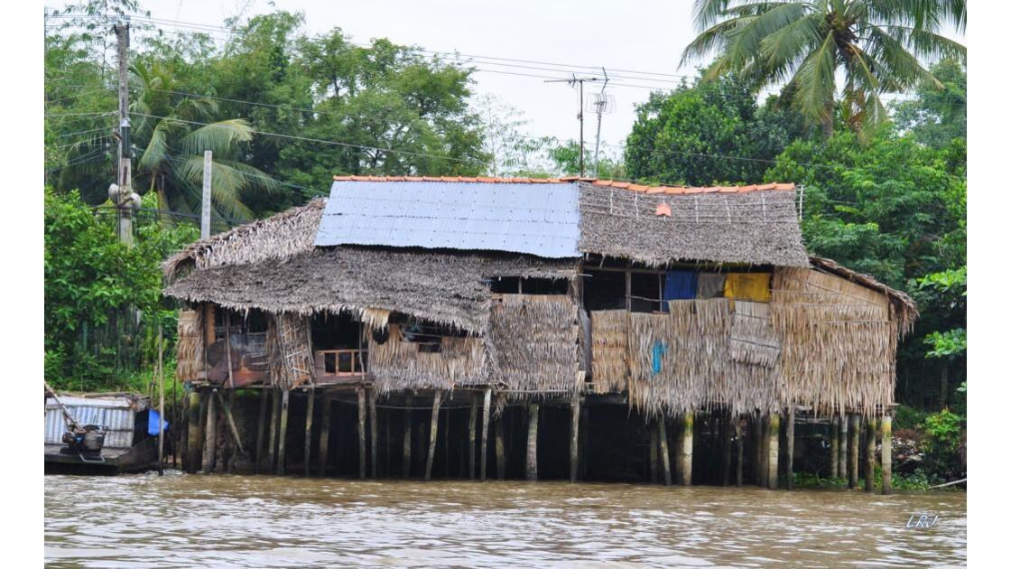 Dans le delta du Mékong.