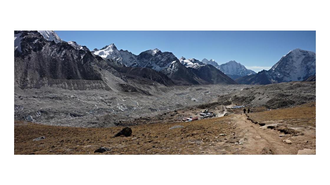 Glacier du Khumbu vers Gorak Shep