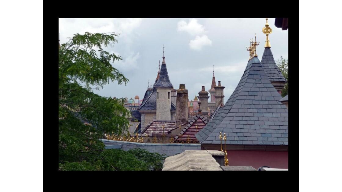 Les toits de fantasyland