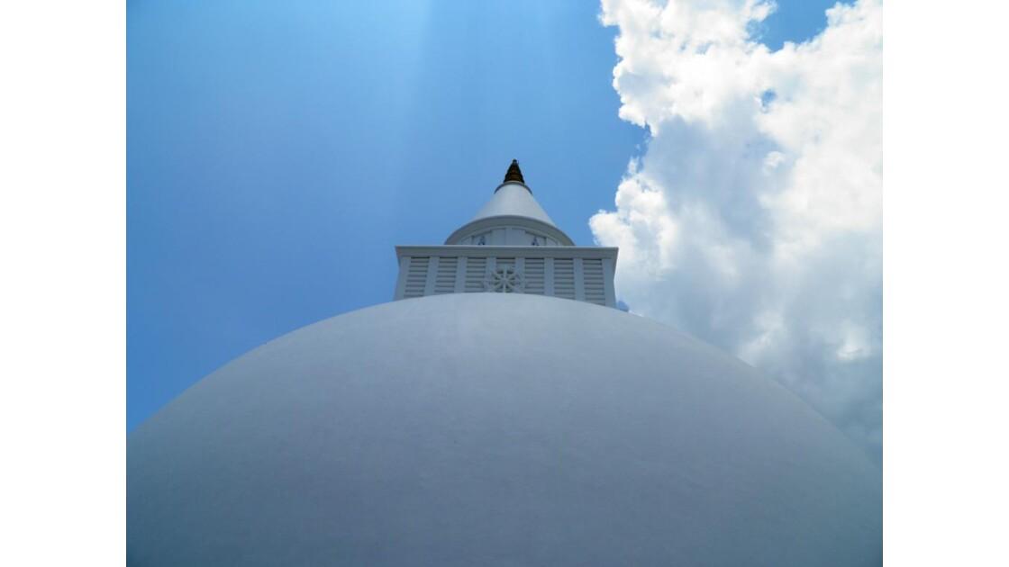 Kataragama - Grand stupa blanc