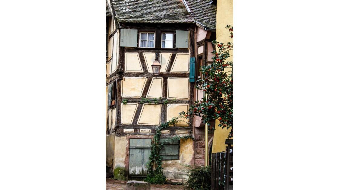 façade de Riquewihr.....