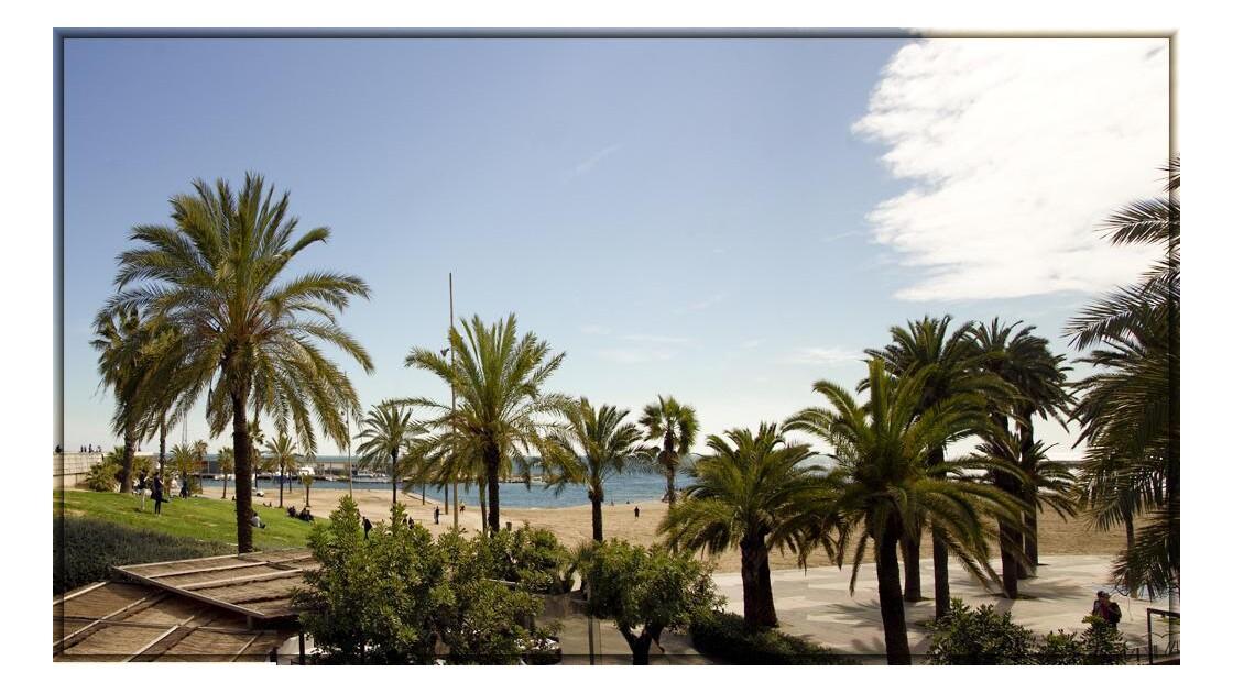 La plage de l'esplanade !