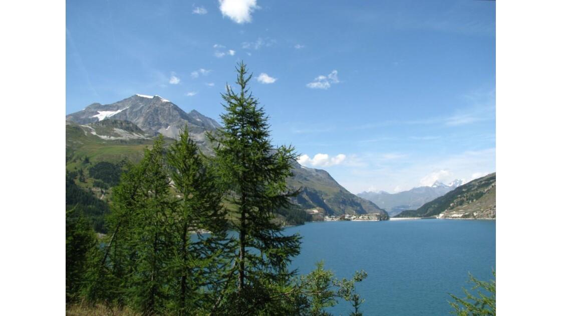 Tignes : Tour du lac du Chevril 3