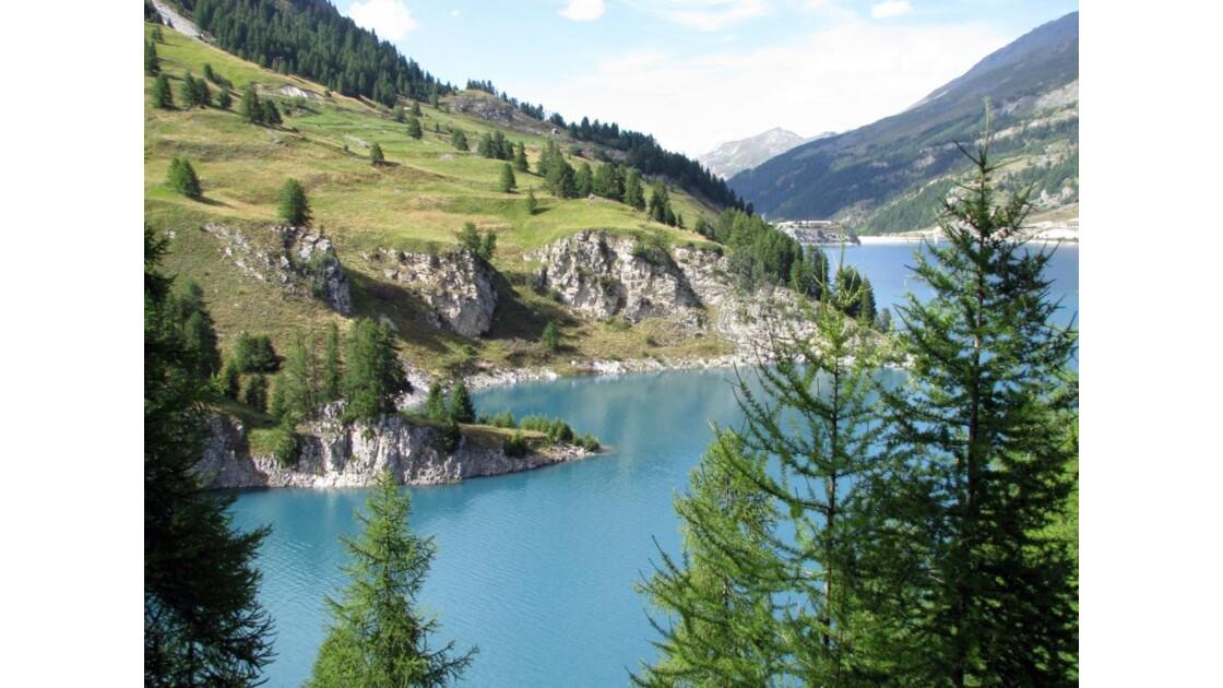 Tignes : Tour du lac du Chevril 4