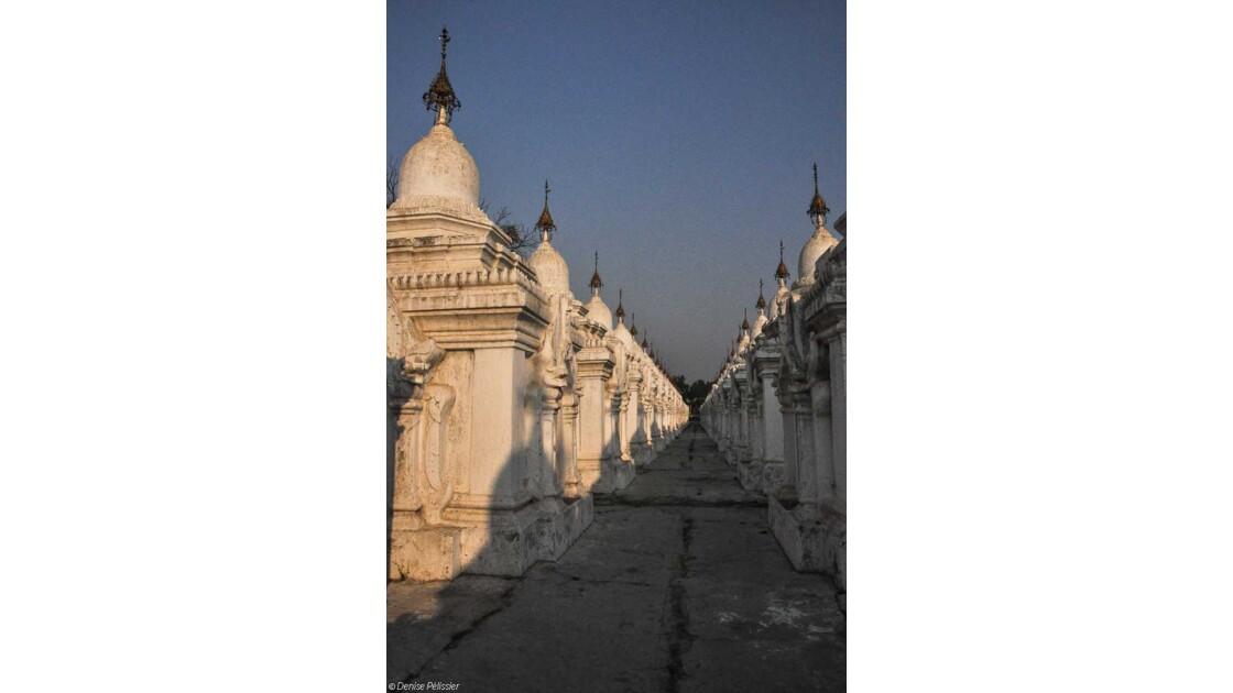 Kuthodaw , un grand livre ouvert