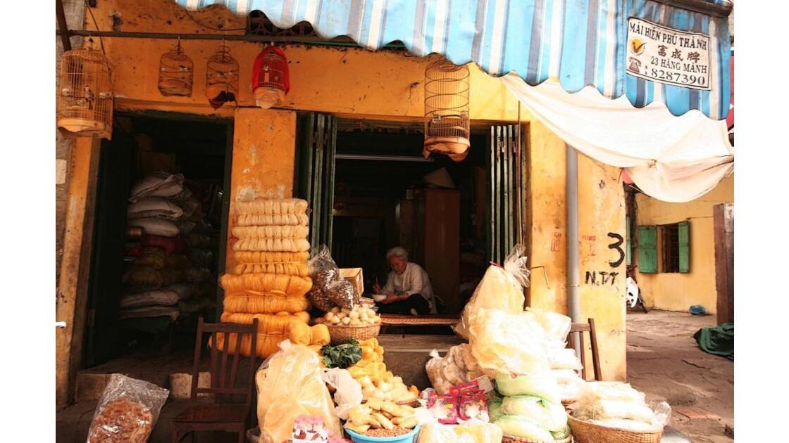 Dans les ruelles d'Hanoi