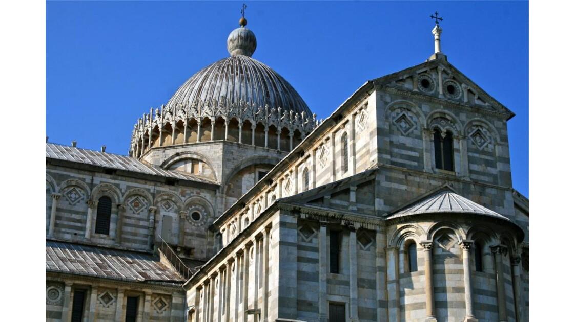Pisa: duomo (coupole et transept sud)