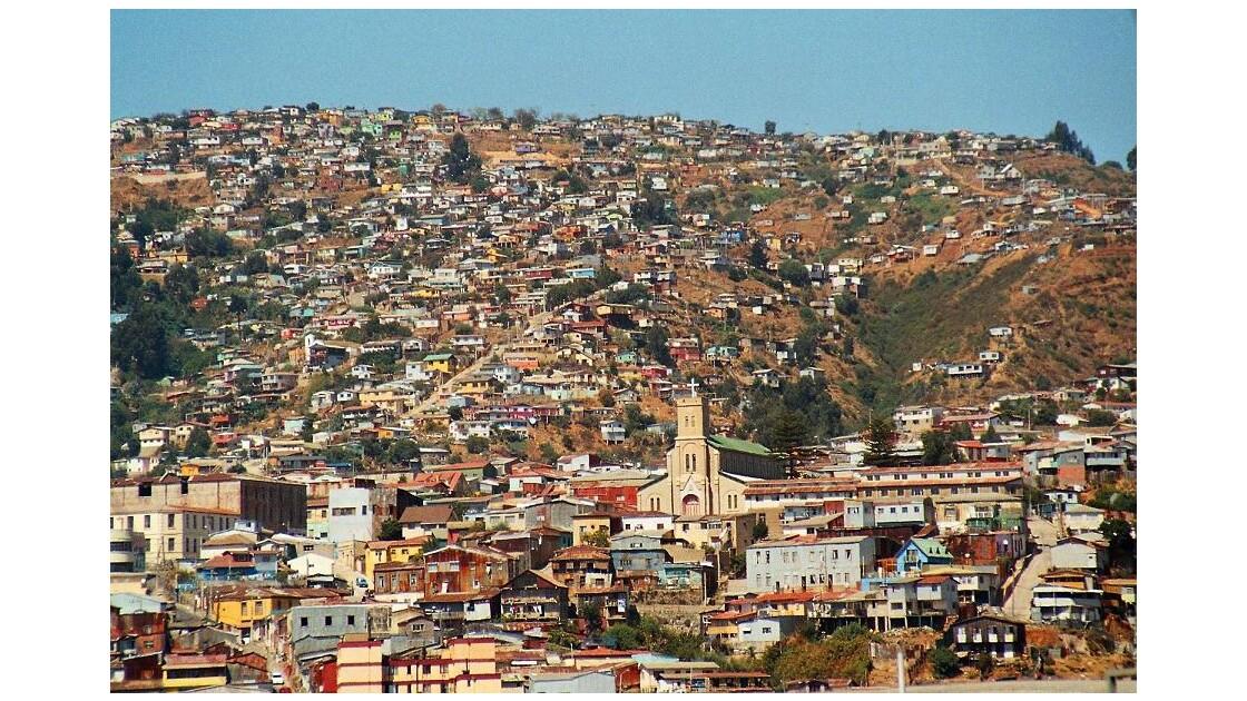Chili, l´hallucinante Valparaiso