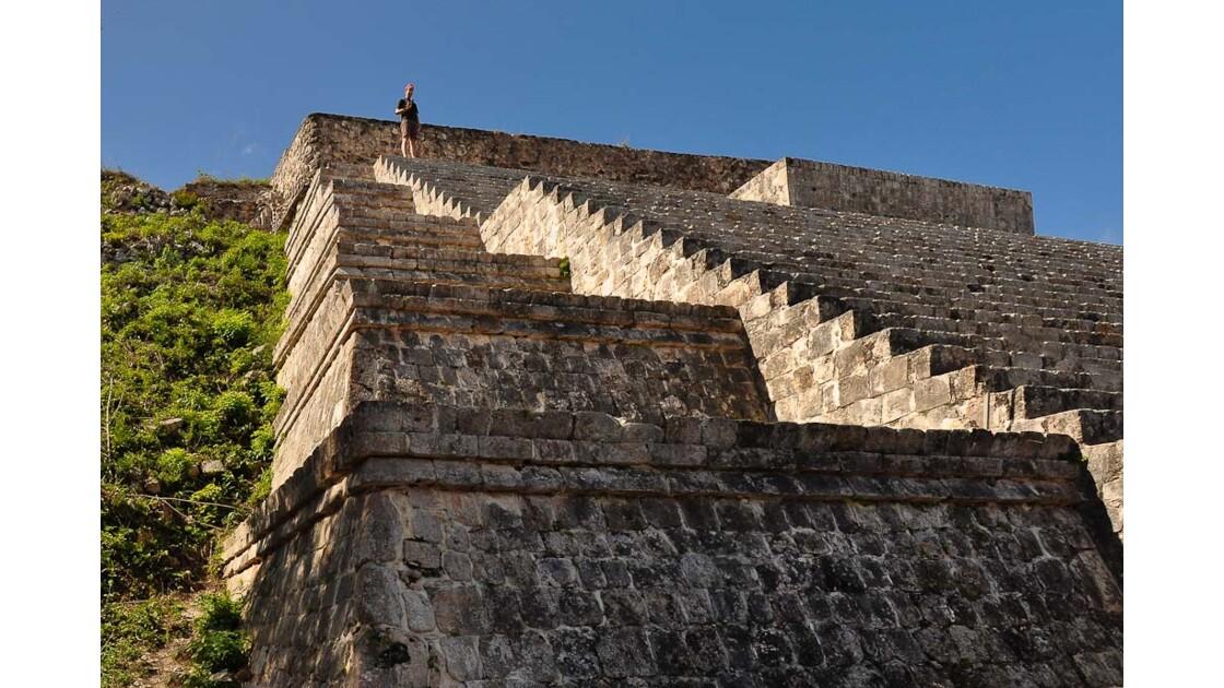 Uxmal: grande pyramide