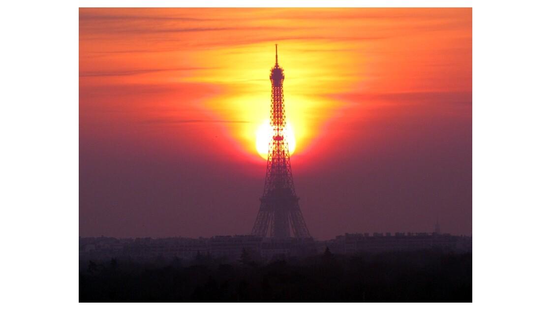 Paris lever de soleil