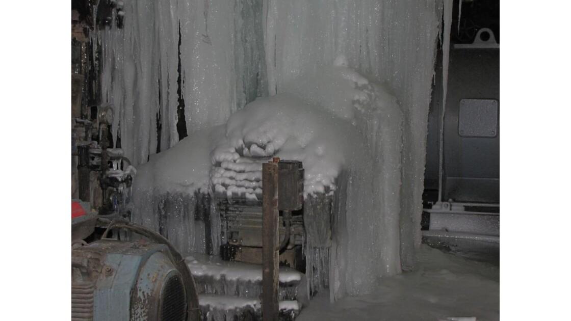 P109 sous la glace....