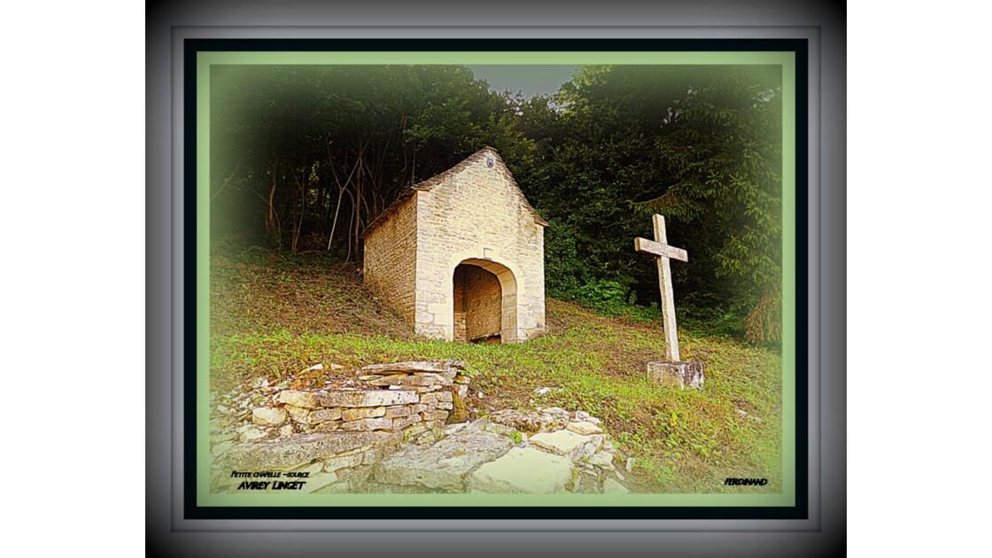jolie petite chapelle source interieure