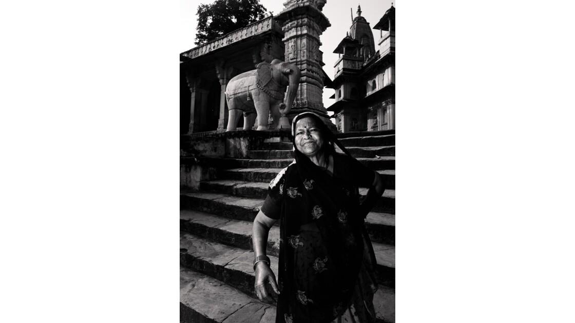 Adepte du dieu Krishna