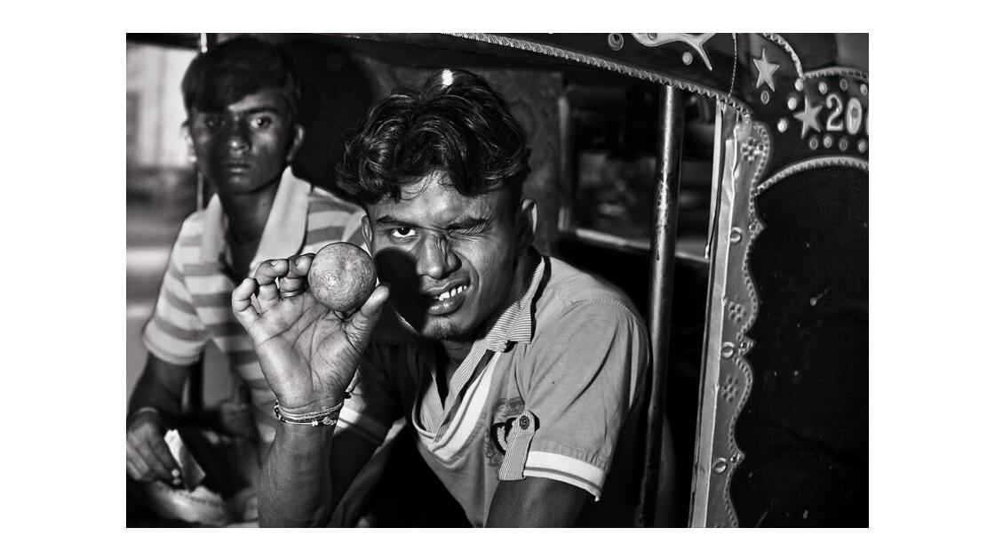 Dans un autorickshaw de Bikaner